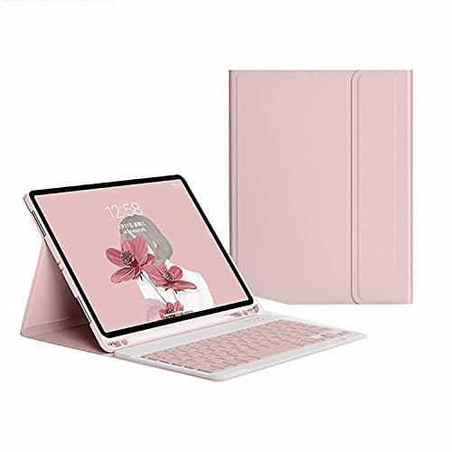 BKEARE Custodia per iPad Mini 6, Tastiera Bluetooth Wireless Rimovibile/Custodia da 8,3 Pollici, Sospensione/riattivazione Automatica, Custodia Protettiva Ultrasottile per iPad Mini 6th 2021 (Pink)