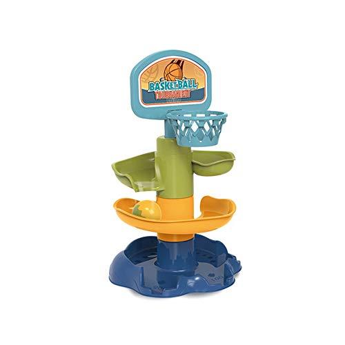 Ball Drop and Roll Swirling Tower, Drop and Go Ball Ramp Toy, Desarrollo de Juguetes educativos Bolas de Actividad para bebés de 12 Meses en adelante