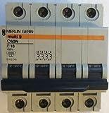 24296 Merlin Gerin Int. Aut. C60N 4P 10A curva C Scheider electric
