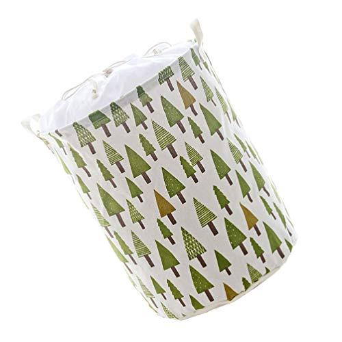Cabilock 1 cesta de la ropa sucia con cordón y asa.
