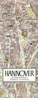 Stadtplan Hannover in 3D von Bollmann