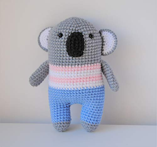 Koala peluche 18cm crocheté main Amigurumi Marshmallow Toys