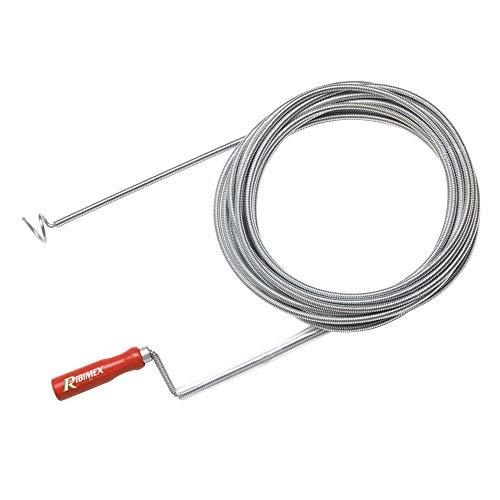 Ribimex PRFD150C - Sturafogne a sonda, Per sturare le grosse tubazioni di scarico, 15 m