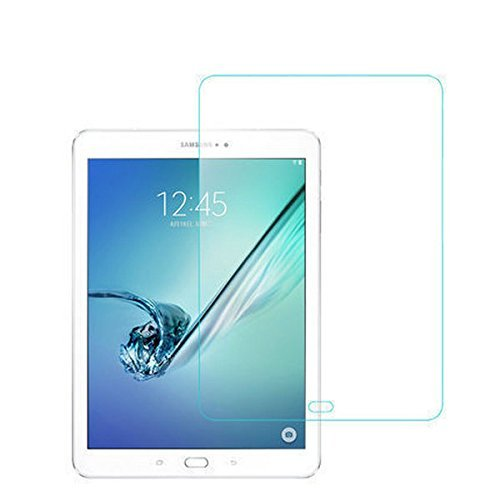 2 x antireflecterende folie voor Samsung Galaxy Tab S3 displaybescherming SM-T820 / SM-T825 stofbescherming anti-spiegeling folie doorzichtig 2 in 1
