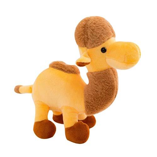 Nologo ZJHDX Marioneta - Simulación del Camello del Desierto muñecas Linda del Camello por un Regalo del niño apoyos de la Foto