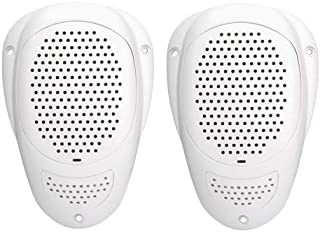 Magnadyne LS2WP Waterproof 3 Inch Ceiling Mount Satellite Speaker (Sold as a pair in White)