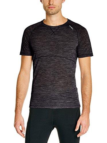 Odlo Revolution TW Light T-Shirt Manches Courtes Homme, Noir, FR (Taille Fabricant : XXL)