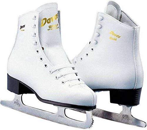 Davos Gold Damen-Art Skate weiß Größe 41