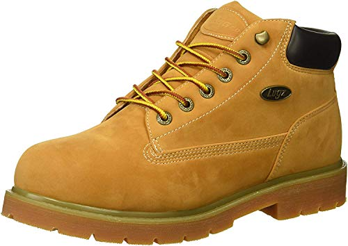 Lugz Men's Drifter Mid Steel Toe Fashion Boot, Golden Wheat/bark/tan/Gum, 13 D US