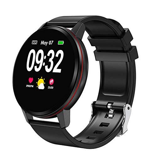 Guarda smart watch misurazione della pressione arteriosa cardiofrequenzimetro fitness braccialetto supporto orologio iOS Android