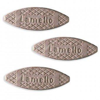 Lamello Verbindungsplättchen Größe 20,Länge 56mm Breite 23mm Stärke 4mm Buche (100 Stück)