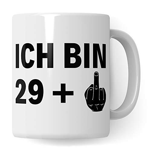 Pagma Druck Tasse 30 Geburtstag, Kaffeetasse 30. Geburtstag Männer, Deko Geburtstagsdeko 1990 geboren, Dekoration Becher Männer Frauen Geschenkidee, Kaffeebecher 30 Jahre