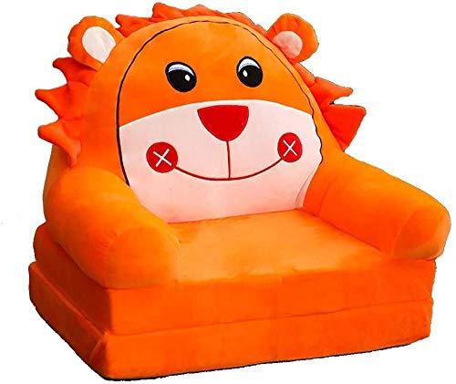 Sofá de niño de dibujos animados, Sofá de StoolCartoon Kid de Sillón habitaciones de niños, sillón for niños, niños sofá Los niños y niñas de juguete de regalo de cumpleaños perezoso tapizada