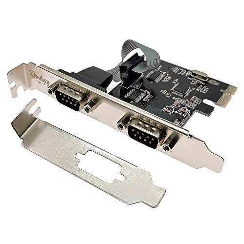 Donkey pc - Tarjeta 2 Puertos Serie RS232 en PCI Express. Tarjeta...