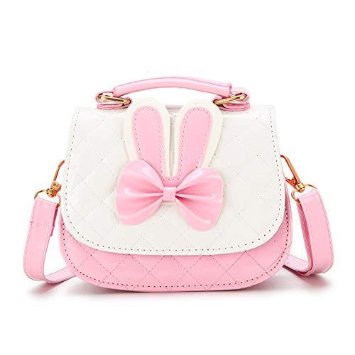 mini bags Suerico Cute Girls Purse Handbag Mini Cartoon Casual Messenger Shoulder Crossbody Bags (Pink)
