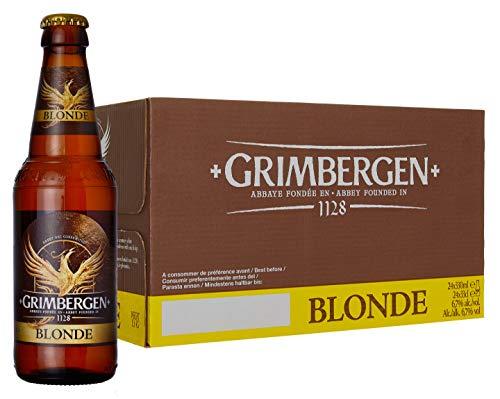 Grimbergen Birra Blonde (Abbazia)- 24 bottiglie da330 ml
