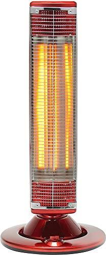Stufa elettrica in fibra di carbonio ROTATIVA 1200W Red Line