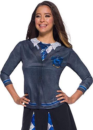 Harry Potter Ravenclaw-T-Shirt grau-blau-Silber M