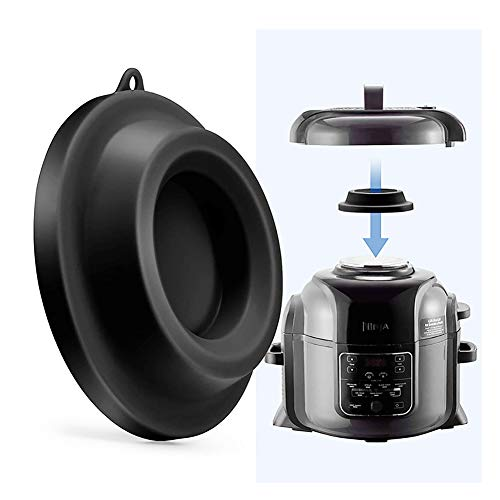 Silicone Lid Holder,GuangTouL Silicone Lid Stand Pressure Cooker Accessories Compatible with Ninja Foodi Pressure Cooker and Air Fryer 5 Qt, 6.5 Qt and 8 Quart
