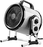 GSWF_OOEFC 3000W Calentadores industriales Calentador de Alta Potencia 20 Segundos Calentamiento rápido 3 Archivos Área de Control de Temperatura 40m2 Hogar/baño Aire Caliente