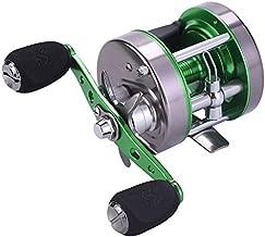 Sougayilang Rover Round Baitcasting Reel Inshore Saltwater Fishing, Conventional Reel-Reinforced Metal Body for Catfish,Salmon/Steelhead, Striper Bass Fishing Reel