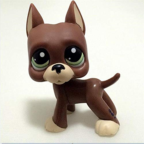 Pet Shop Littlest Pet Shop Toy Lps Rare Pet Shop Little Cocker Spaniel Old Original Dog Puppy Grey Gray White Mocha Figure Child 3