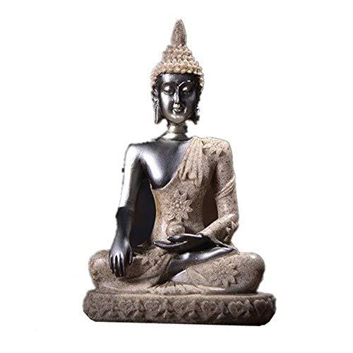 Buddha-Statue-Skulptur, Sandstein-Figur,...