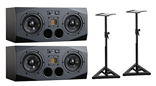 Adam Audio A77X Stativ Bundle