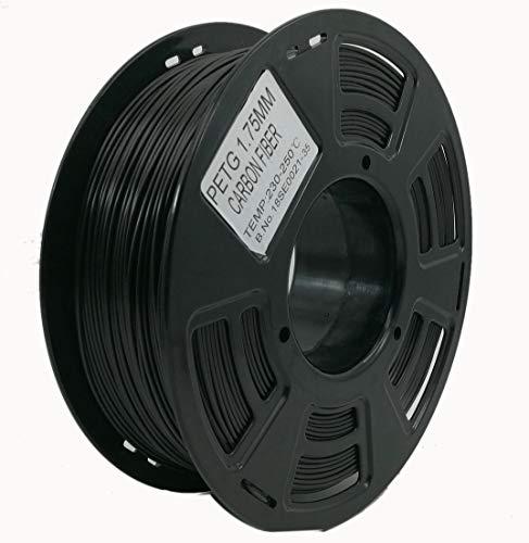 Stronghero3D PETG Filament en fibre de carbone pour imprimante 3D 1,75 mm 1 kg