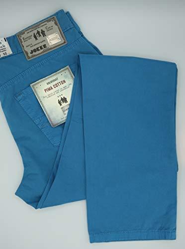 Joker Jeans Joker 5 Pocket Hose, Freddy, 3510 0215, Stretch, Aqua - 38/32