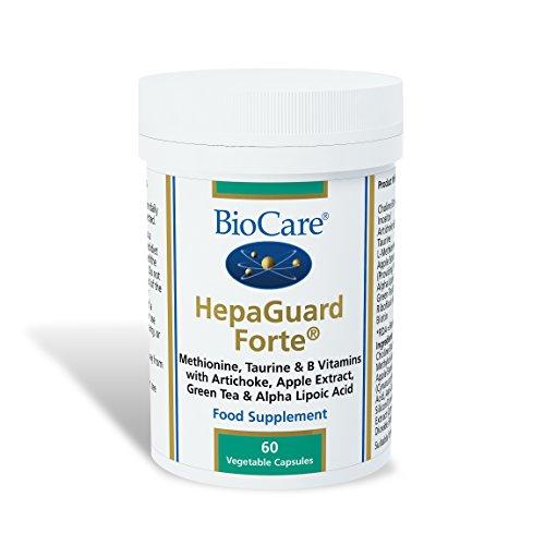 Biocare Hepaguard Forte Vegetable - Pack of 60 Capsules