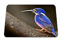 22cmx18cm マウスパッド (カワセミ鳥くちばし) パターンカスタムの マウスパッド