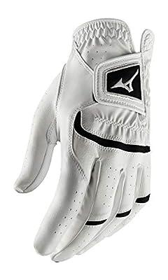 Mizuno 2020 Elite Golf Glove White/Black, Large, Left Hand