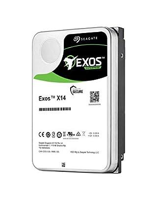 ST14000NM0048 Seagate 14TB SAS 12 Gb/s (Not SATA) Exos X14 (New with Warranty) 3.5 Inch 7200 RPM 256MB Cache 512e 4Kn Enterprise Hard Drive HDD