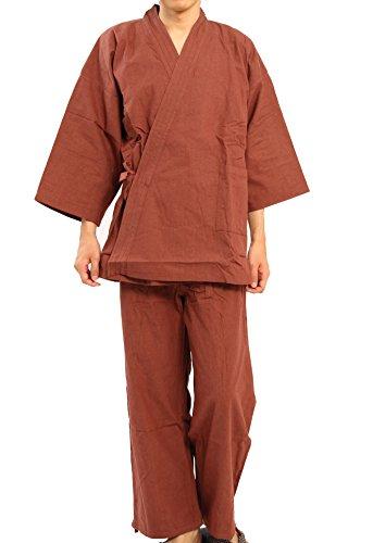 Edoten Men's Japan Kimono Denim Samue BR XXXL