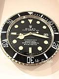 Submariner Rolex reloj de pared 35 cm Hand Made in Italy