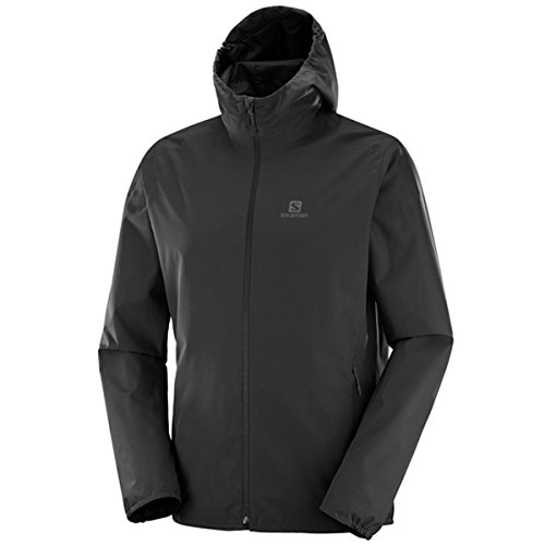 SALOMON Herren Essential Outdoorjacke, Black, XL
