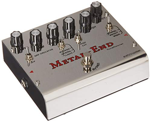 Biyang Metal End Pro Distortion Effects Pedal
