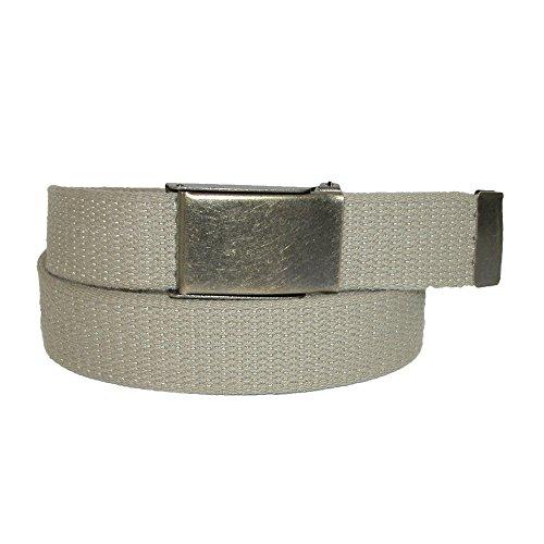 CTM tissu pour homme avec ceinture réglable à boucle disponibles (Tall) - Beige - Medium