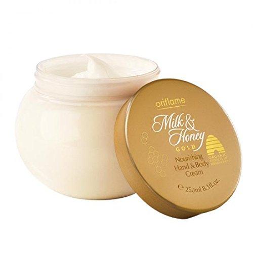 Oriflame Milk and Honey Gold, Hand and Body Cream - 250 Ml