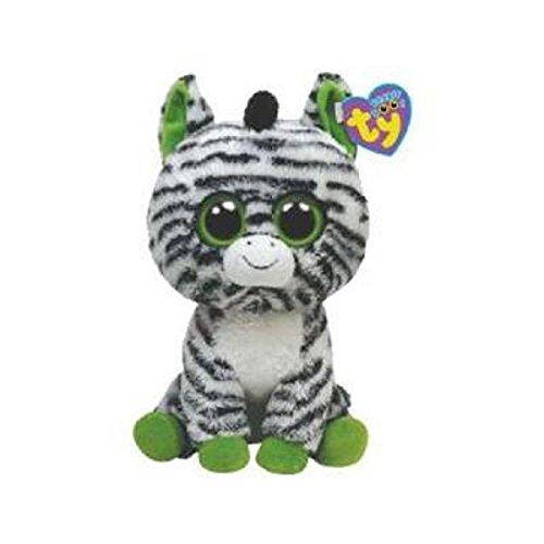 TY 7136036 - Zig-Zag Zebra Beanie Boos, 15 cm
