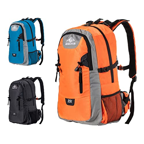 GEIGELSTEIN zaino da alpinista da 35 litri con parapioggia per escursioni e viaggi