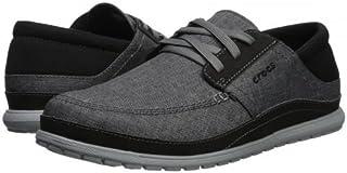crocs(クロックス) メンズ 男性用 シューズ 靴 スニーカー 運動靴 Santa Cruz Playa Lace - Slate Grey/Light Grey [並行輸入品]