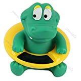 Cute Crocodile Baby Infant Bath Tub Thermometer Water Temperature Tester Toy : As