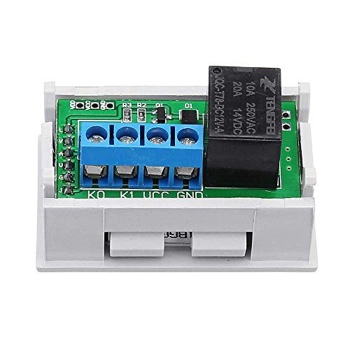 ZJN-JN 12V 20A Mini Digital LED Dual Display Timer Relay Module With Case Timing Delay Cycle Spot Steuermodul printer accessories PC Accessories