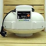 Prima Klima - Ventilador tubular (2 niveles, 390-760 cbm, 150 mm)