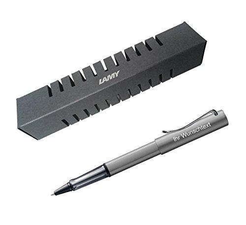 Lamy Tintenroller Al-star Modell 326, inkl. Laser-Gravur, Farbe graphite