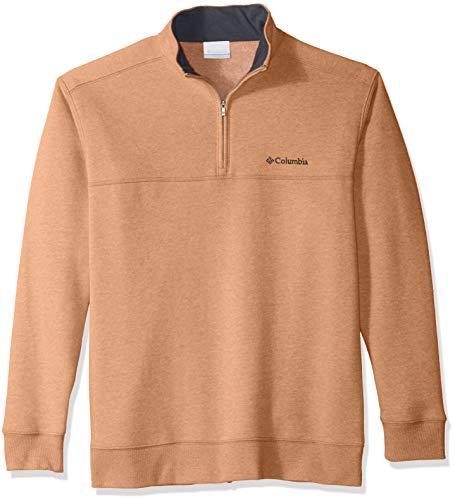 Columbia Men's Hart Mountain II Half Zip Jacket, Delta, X-Large