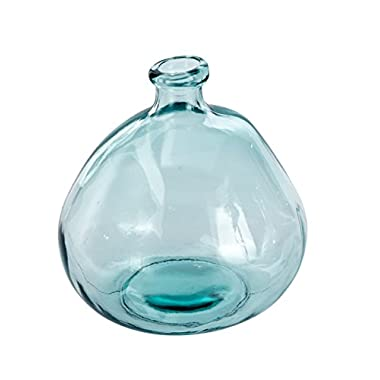 Mud Pie 4735006L Nest Large Recycled Spanish Glass Bubble Shape Vase 9