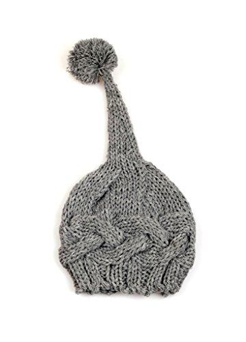 bestkint recién Nacido Baby Boy Girl Knit Crochet Sombrero Cap Beanie Top Pompon fotografía Prop